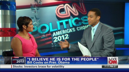 Goldie Taylor shares her view during the election time in CNN news