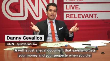 Danny Cevallos hosting a show on CNN