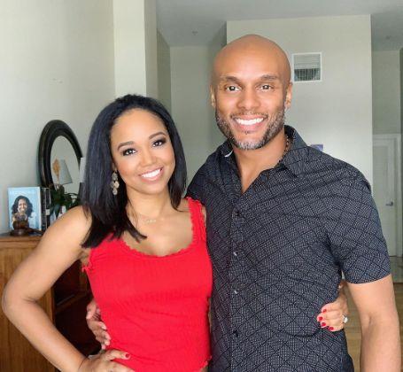 Faith with her Boyfriend Kenny