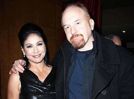 Kitty's parents, Alix, and Louis C.K.