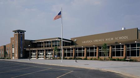 Saratoga High School, where Tina met her best friend, Talia