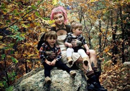 Alex and his former partner, Adriane Hallek, shared two children