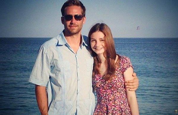 Paul walker with his ex-girlfriend,